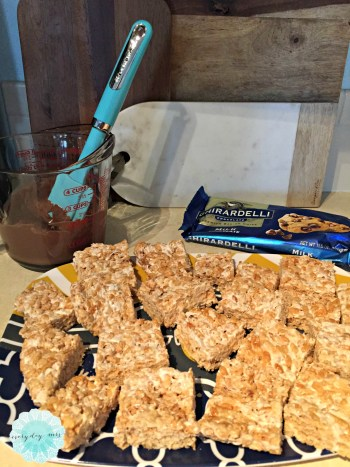superbowl rice krispies