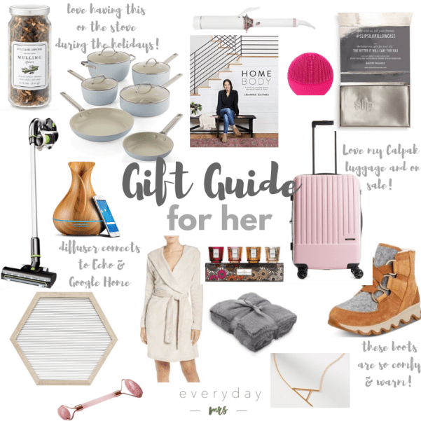 gift guide for any gal