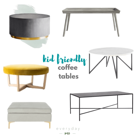 Kid Friendly Coffee Tables Everyday Mrs