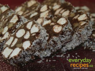 Chocolate Marshmallow Roll