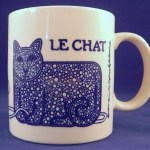 Taylor & Ng Le Chat Cat Mug