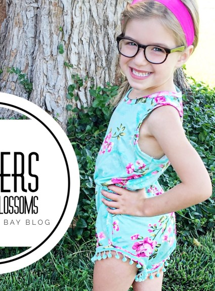 Toddler Rompers | Bailey's Blossoms