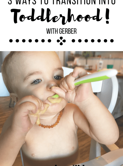 3 Ways to Transition Into Toddlerhood