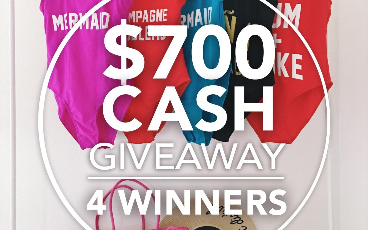 Giveaway | 4- $175 Winners