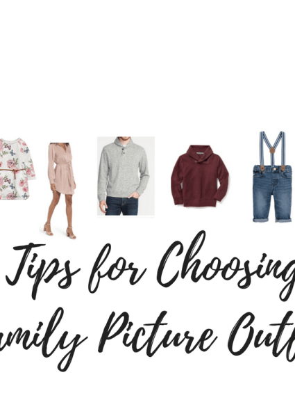 5 Tips For Picking Family Picture Outfits