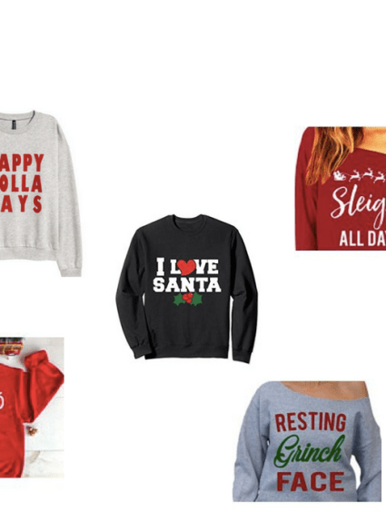The Best Christmas Graphic Tops