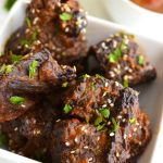 Ginger & Orange Braised Short Ribs