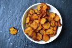 Crispy Spiced Carrot Chips