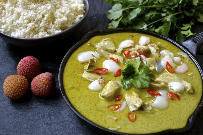 Chicken & Lychee Green Curry