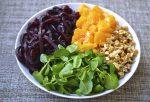 Beet, Orange, Watercress & Walnut Salad