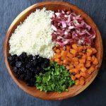 Radicchio, Butternut Squash, Dried Cherry & Cauliflower Couscous Salad
