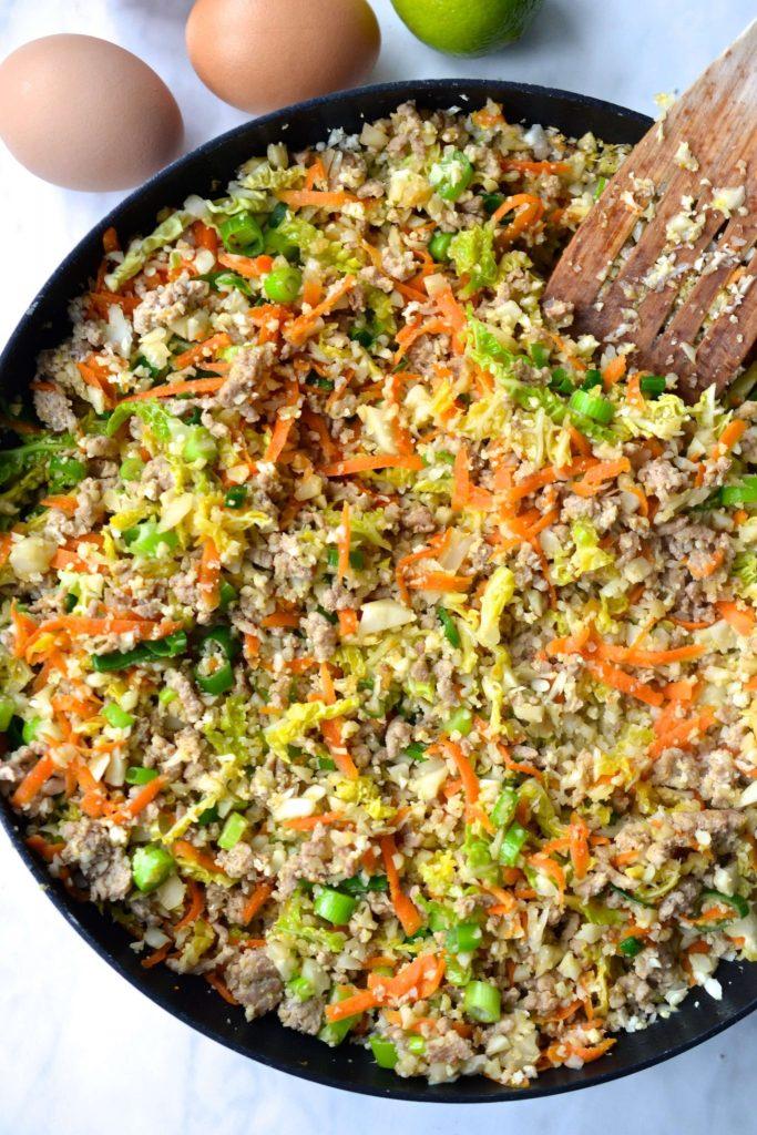 Paleo Pork Fried Rice