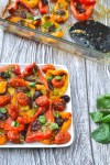 Roasted Peppers with Caper Sauce