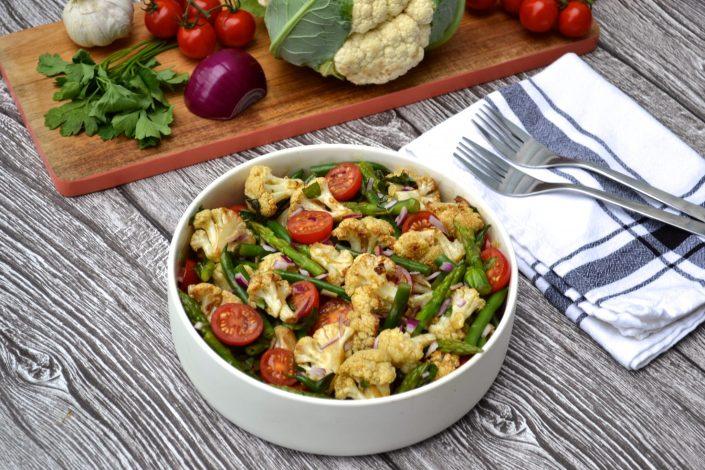 "Cauliflower ""Faux-Tato"" Summer Salad"
