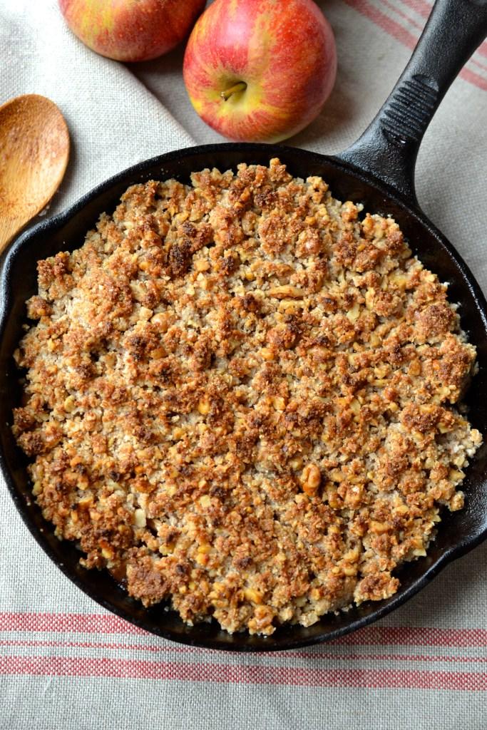 recipe: apple crisp for 150 [29]