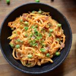 Butternut Squash Pasta with Alfredo Sauce