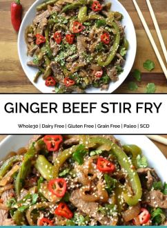 Ginger Beef Stir Fry
