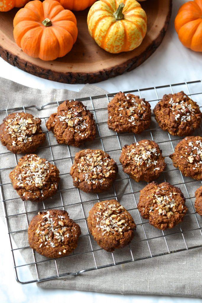 Paleo Pumpkin Breakfast Cookies