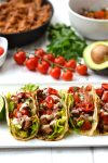 Celery Root Tortillas & Shredded Chicken Tacos