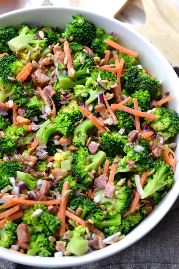 Crunchy Bacon & Broccoli Salad