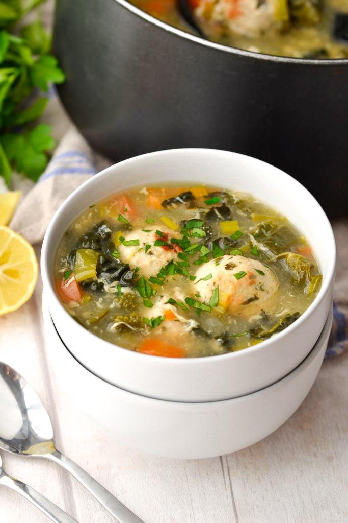 Paleo Italian Wedding Soup