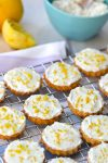 Lemon Cookies with Lemon Icing