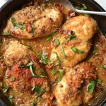 Creamy Sun Dried Tomato & Basil Chicken