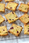 Pistachio, Cranberry & Orange Cookies