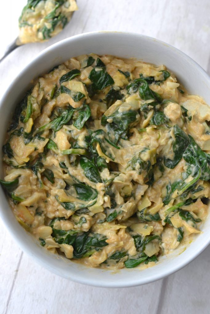 Spinach & Artichoke Stuffed Mushrooms