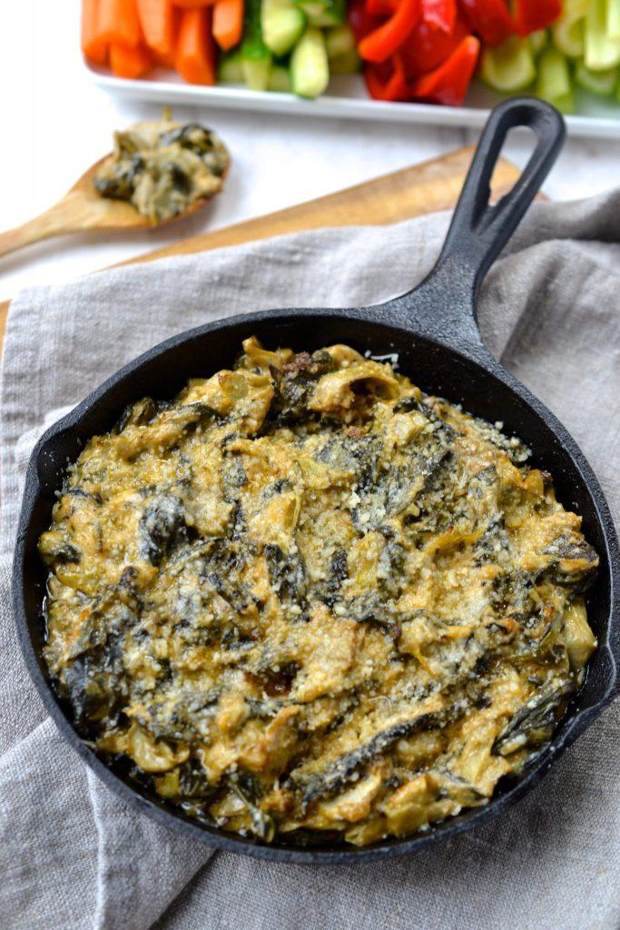 Spinach, Kale & Artichoke Dip