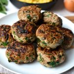 Turkey, Spinach & Caramelized Onion Breakfast Sausage
