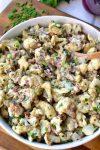 "Creamy Cauliflower ""Faux""-Tato Salad"
