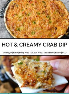 Hot & Creamy Crab Dip