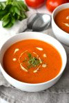 Creamy (or not) Tomato Soup