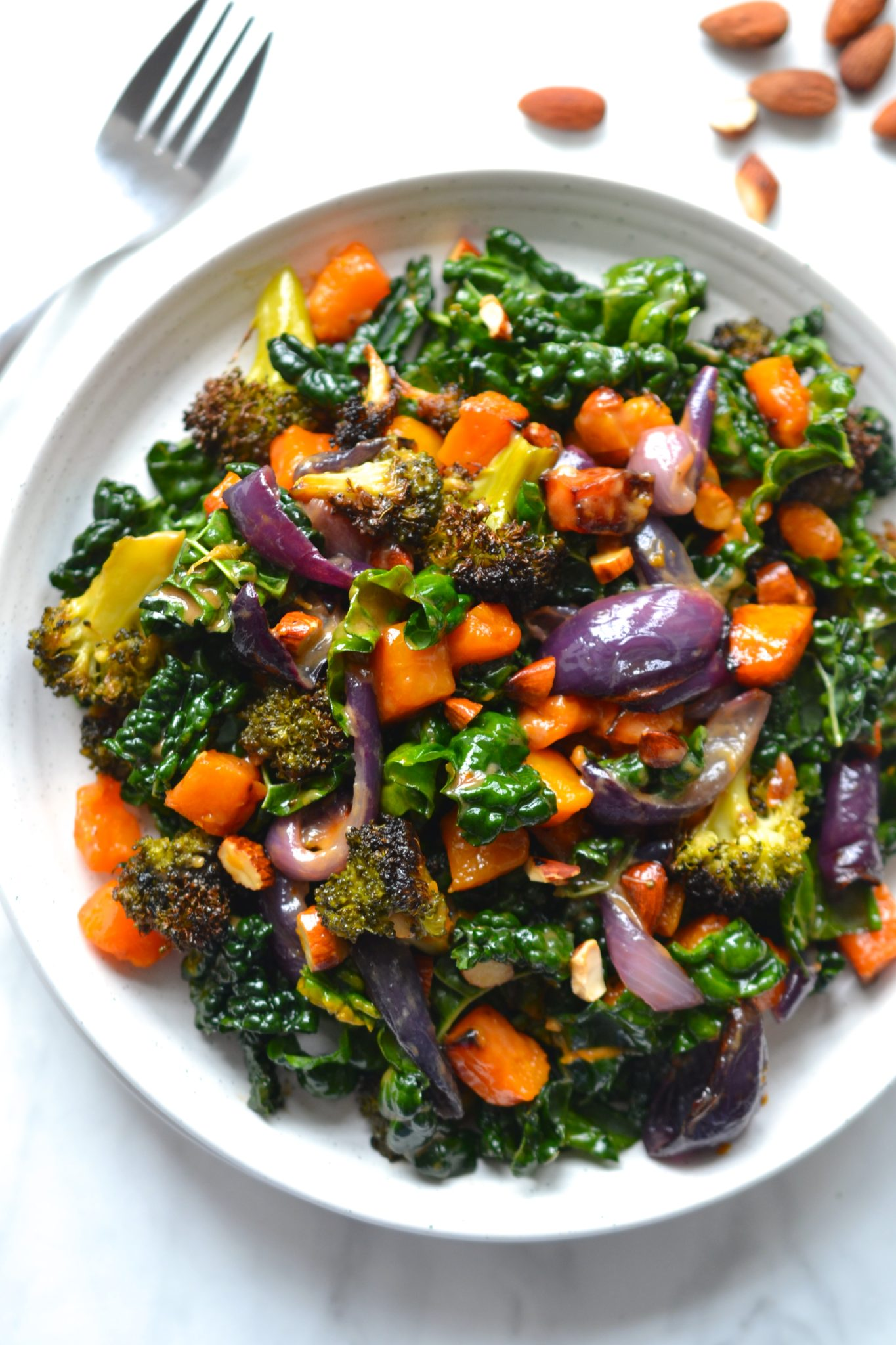 Butternut Squash & Kale Salad | Every Last Bite