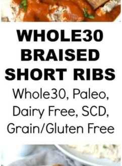Whole30 Braised Short Ribs