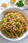 Butternut Squash Noodles with Tahini Lemon Sauce
