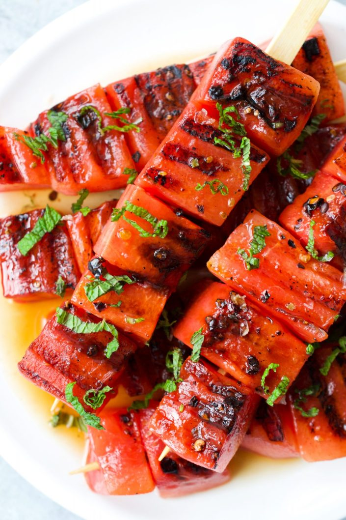 Grilled Watermelon Skewers