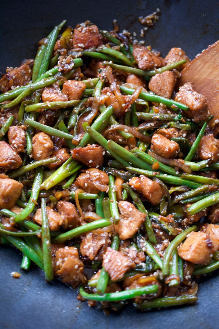 Green Bean & Chicken Stir Fry