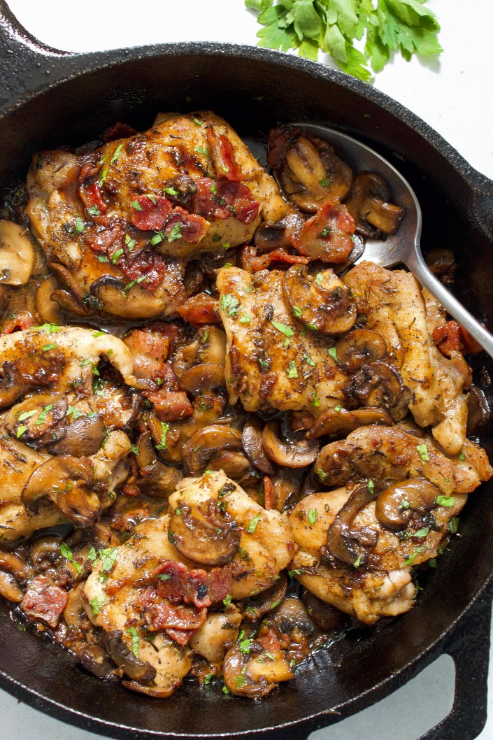 Whole30 Chicken and Mushrooms