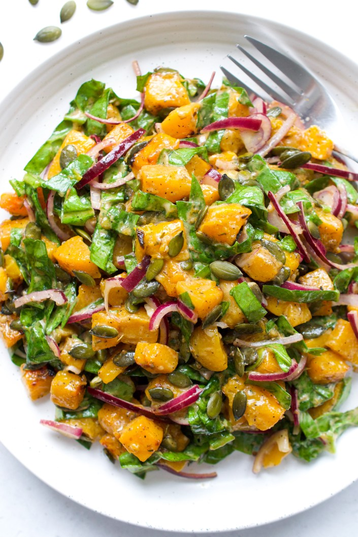 Spiced Butternut Squash Salad