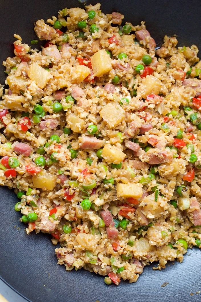 Paleo Hawaiian Fried Rice | Every Last Bite