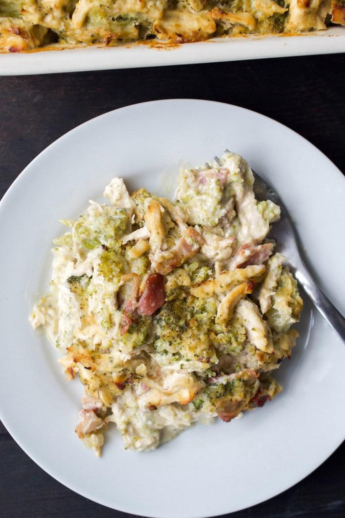 Whole30 Chicken Broccoli Casserole