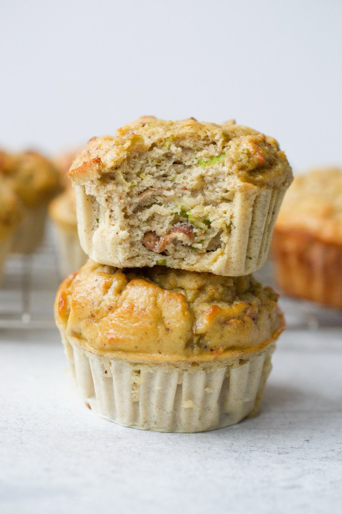 Brussels Sprout & Bacon Egg Muffins