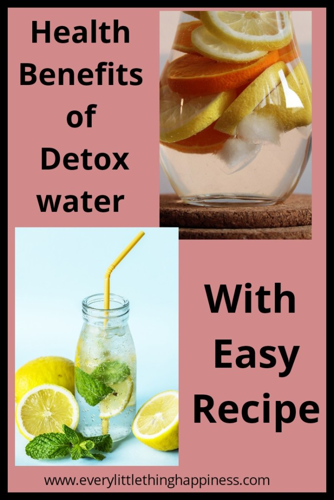 Detox Water Health Benefits- Instacuppa Green Tea Detox Bottle