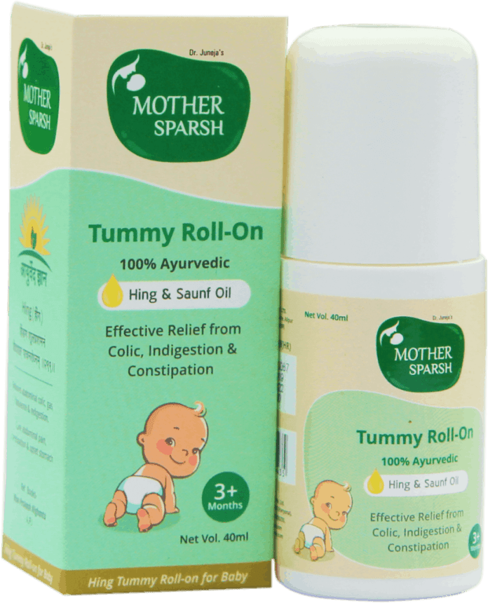 New Age mom's Colic solution - MotherSparsh TummyRoll On