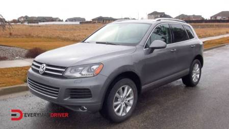 2014 Volkswagen Touareg TDI on Everyman Driver with Dave Erickson