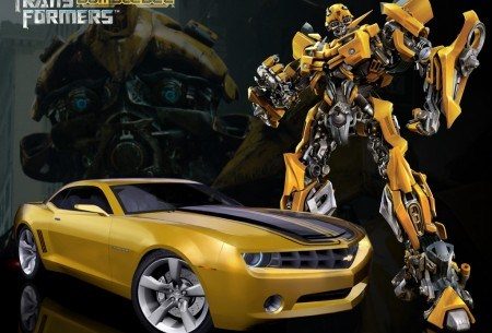 2010 Chevy Camaro Transformers Special Edition