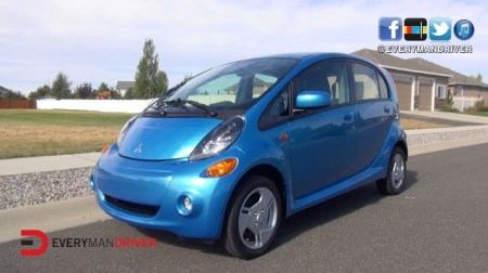 New Subcompact Car Review: 2014 Mitsubishi i-MiEV on Everyman Driver ...