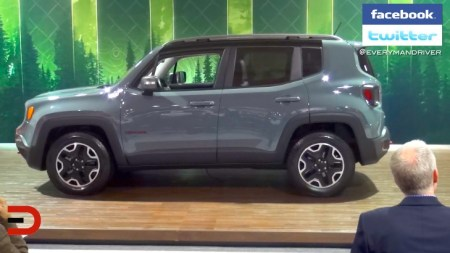 2015 Jeep Renegade at 2014 Seattle Auto Show on Everyman Driver